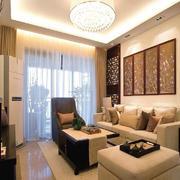 客厅中式家具小户型装修