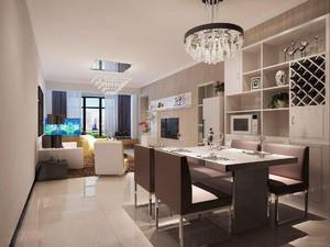 小户型客厅餐厅装修效果图,简欧小户型客厅装修效果图