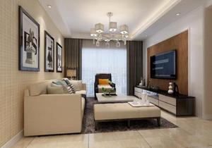 家装客厅餐厅效果图,客厅现代吊灯效果图