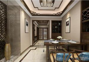 客厅主墙面立面图,中式客厅餐厅立面图