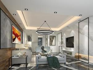 后现代风格的客厅装修效果图,后现代风格客厅装修效果图