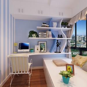 书房兼客卧榻榻米装修效果图,八平米书房榻榻米装修效果图
