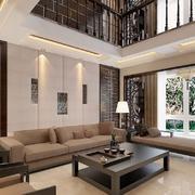 客厅中式家具100平米装修