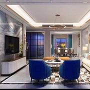客厅现代家具别墅装修