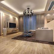 客厅简约家具90平米装修