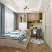 卧室现代榻榻米100平米装修