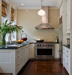 小户型厨房家装设计效果图,50平米小户型家装设计效果图