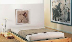 别墅榻榻米床装修效果图,儿童房高低榻榻米床装修效果图