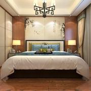 卧室中式榻榻米90平米装修