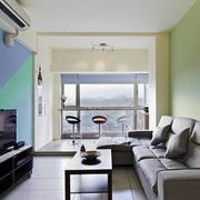 阳台现代家具小户型装修