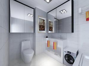 15平小户型装修实景图,小户型卫生间家装效果图