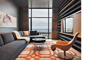 90方小户型中式装修实景图,小户型客厅书房装修实景图
