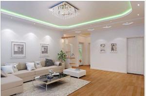 客厅灯装修实景图大全,哈尔滨家庭客厅装修效果图