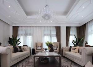 家装pvc客厅吊顶效果图,家装简欧风格客厅吊顶效果图大全