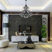 客厅现代电视墙小户型装修
