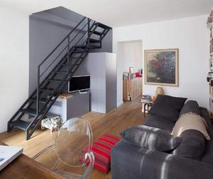 小户型50平米一室一厅装修效果图,50平米挑高小户型装修效果图
