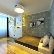 卧室现代榻榻米90平米装修