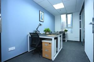 政府办公室装修实景图,15平米两人办公室装修实景图