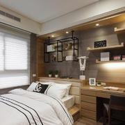 卧室现代门窗90平米装修
