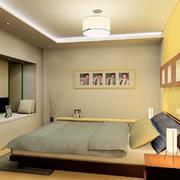 卧室简约家具100平米装修