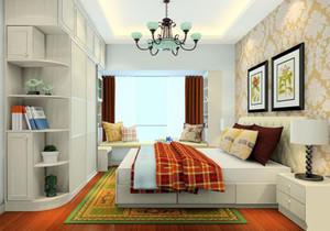 带飘窗的小卧室简约装修效果图欣赏,榻榻米大卧室装修效果图