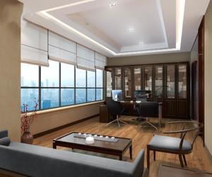 總經理辦公室裝修圖,60平米經理辦公室裝修