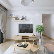 客厅北欧家具90平米装修