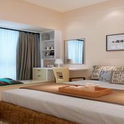 卧室现代飘窗90平米装修