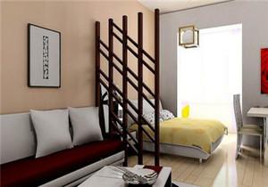 2房1厅客厅改一半卧室效果图,客厅改一半卧室榻榻米效果图