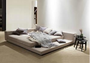 次卧榻榻米床柜装修效果图,30平方榻榻米床柜一体装修效果图