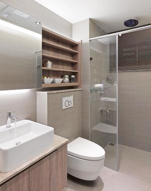 小户型60平米厕所装修效果图大全,小户型卫生间装修效果图大全