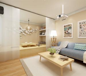 家装客厅榻榻米设计效果图欣赏