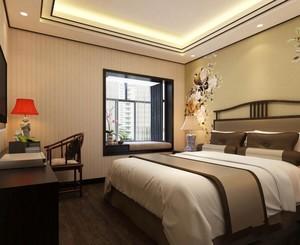 中式卧室装修效果图欣赏