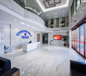 公司大厅背景装修效果图