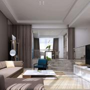 客厅简约沙发别墅装修