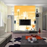 客厅现代电视墙大户型装修