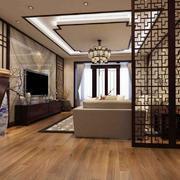 客厅中式家具三居室装修