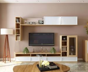 客厅定制电视柜家具效果图