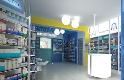 药店营业场所平面布局图