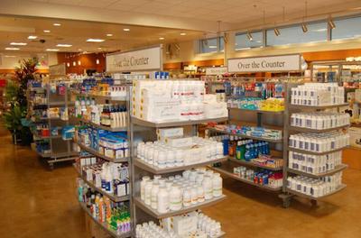 零售药店平面布局图大全