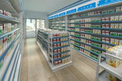药店食品设施设备布局平面图
