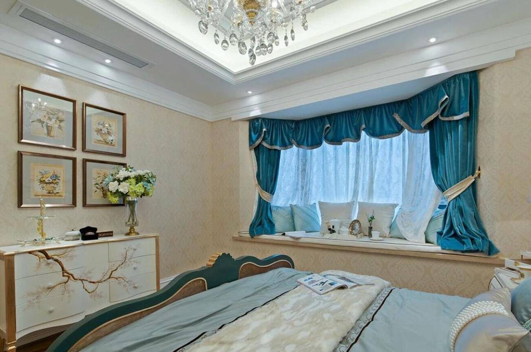 卧室欧式家具别墅装修