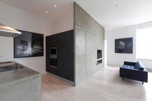 家装隐形门设计客厅装修效果图