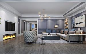 现代家装客厅设计效果图