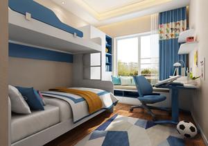 帶飄窗榻榻米的臥室裝修效果圖