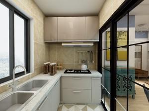 L型櫥柜簡單設計圖
