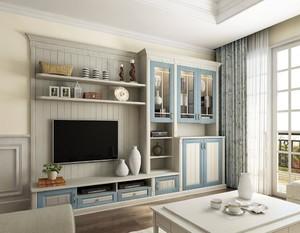 家装客厅柜设计效果图