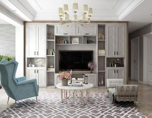 家装客厅橱柜设计效果图