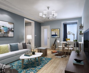 家装客厅房间设计效果图