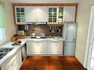 l型厨房橱柜的设计图